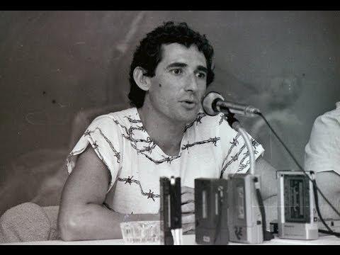 'Rock And Ríos'  1982. Miguel Ríos. Txurdinaga Bilbao.