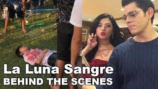 Mga Bagong behind the scenes sa set ng La Luna Sangre kasama sina Kathryn atbp.