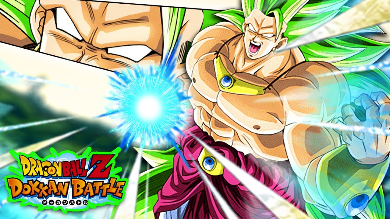 S A 100 F2p Phy Ssj3 Broly Dbz Dokkan Battle Youtube