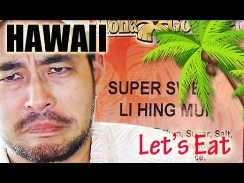 Let's Eat Hawaii Part 2 (Food Review)【パート2】ハワイ・これ知ってる?ハワイのお菓子はどんな味?
