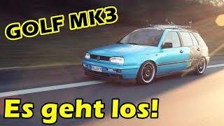 LB GARAGE | GOLF MK3 - ES GEHT LOS!