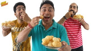 GOLGAPPA EATING COMPETITION | Pani Puri/Puchka Challenge | Food Challenge | Street Food Of India