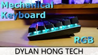 Ajazz RGB Mechanical Gaming Keyboard (Black Switches) Review 2017