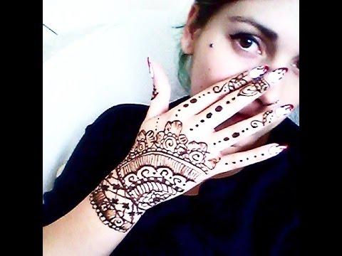 Tatuaż Z Henny W Stylu Indyjskim