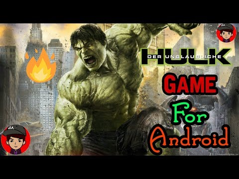 The Incredible Hulk Android Game Download | GamingSpy | Marval Games