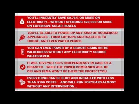 Attain complete energy independence with WISE Generator   WISE Generator Blueprint Download