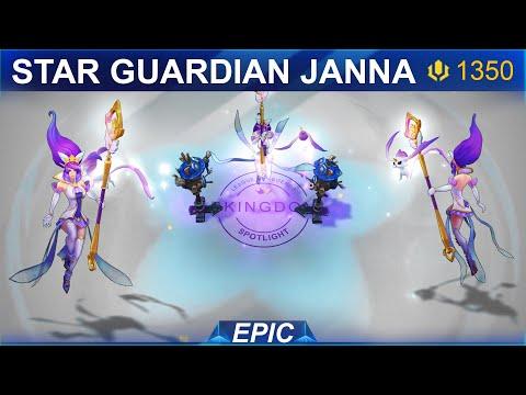 Star Guardian Janna Skin Spotlight 2020 | SKingdom - League of Legends