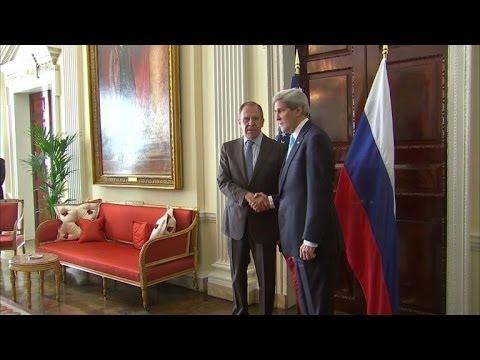 Crimée: rencontre entre Kerry et Lavrov à Londres