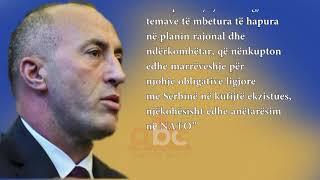 Haradinaj: Kete vit mbyllim marreveshjen finale me Serbine | ABC News Albania