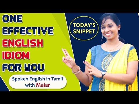 Speak like Native English People | Today's Snippet | Spoken English in Tamil | Kaizen English