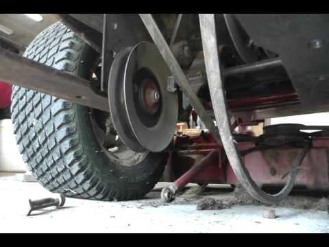 eXmark Lazer Z  Zero Turn  DIY Remove Deck  YouTube