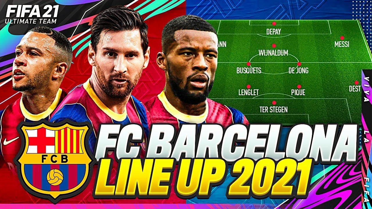 Download OMG! FC BARCELONA LINE UP 2021✅💰& CONFIRMED TRANSFERS TARGETS 2021/22   w DEPAY, WIJNALDUM & MESSI