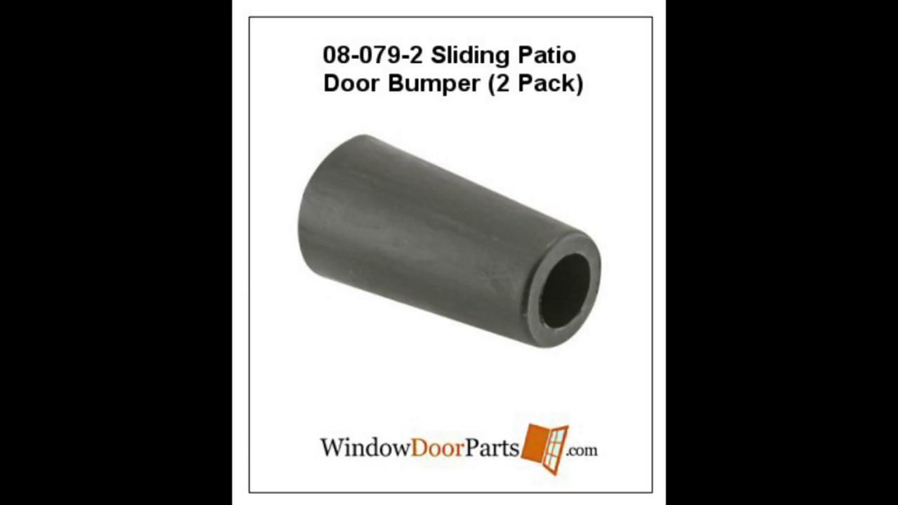 08 079 2 Sliding Patio Door Bumper 2 Pack Youtube