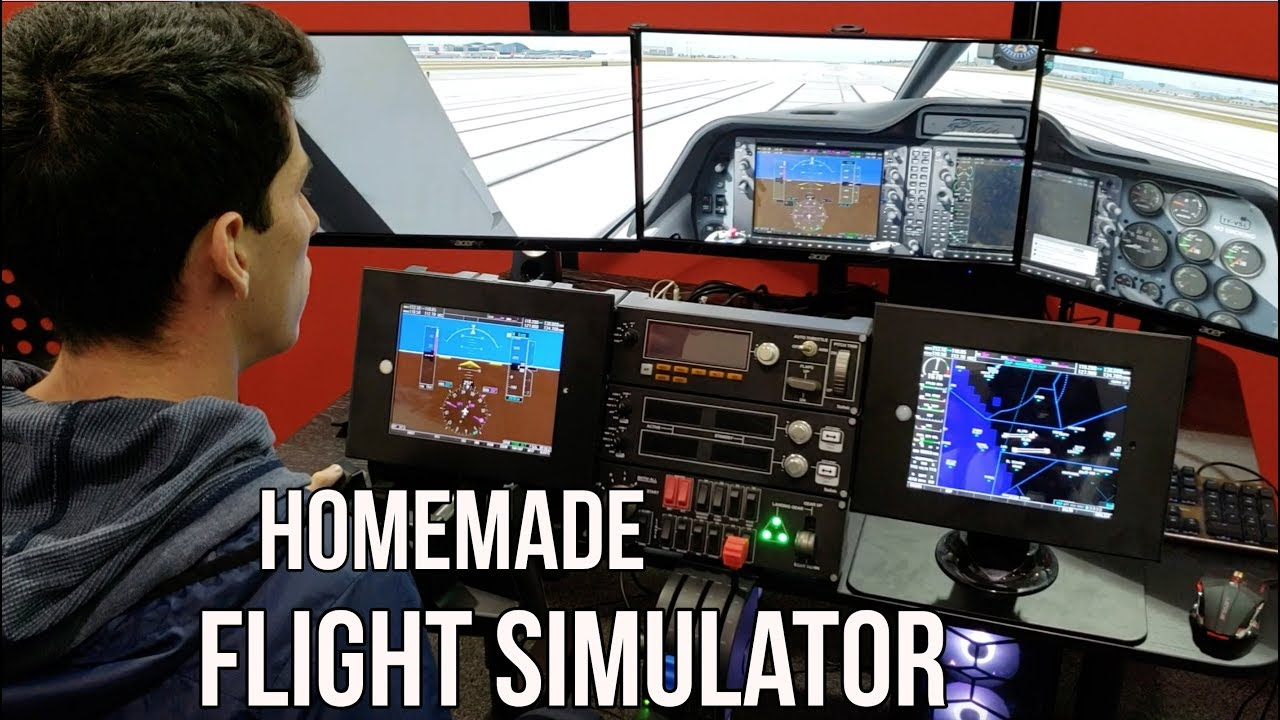 Learn How to Fly From Home l Flight Simulator Setup