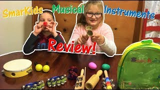 Unboxing Smarkids Toy Musical Instruments & Review