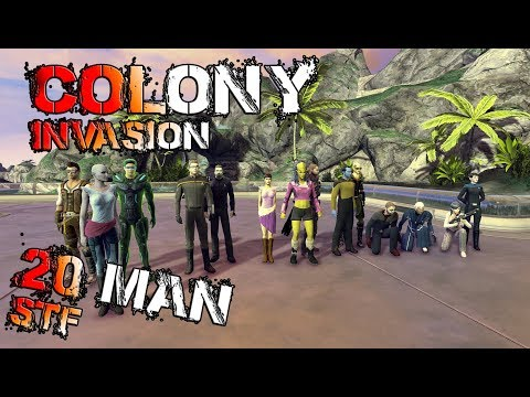 Colony invasion, 20 Man STF - Star Trek Online