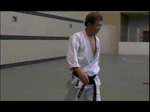 Interview with a karate legend. H. Kanazawa, 10th Dan.
