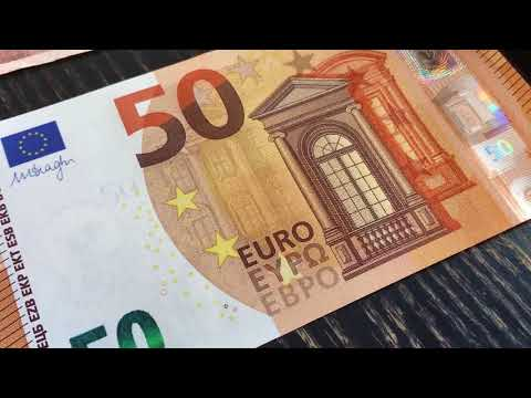 The new 50 euro banknote