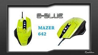 E-Blue Mazer M642 - Test i recenzja niedrogiej myszki z sensorem optycznym