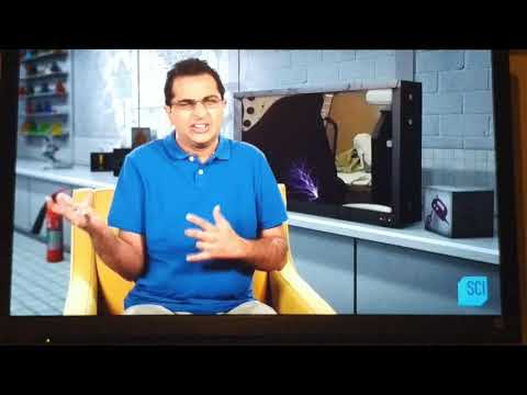 """My segment on """"Outrageous Acts of Science"""" on the Science Channel"""