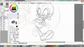 Cream and Charmy WIP Doodle