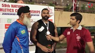 Tajinder Pal Singh Toor Sets New National Shot Put Record
