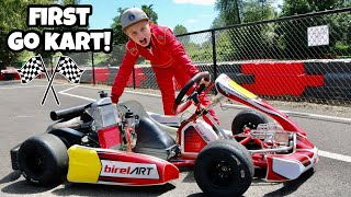 I Got a Racing Go Kart! *FIRST DAY AT THE TRACK!*
