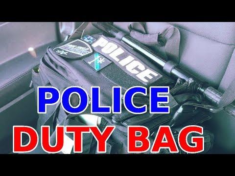 COP Duty Bag: What's Inside? - YouTube