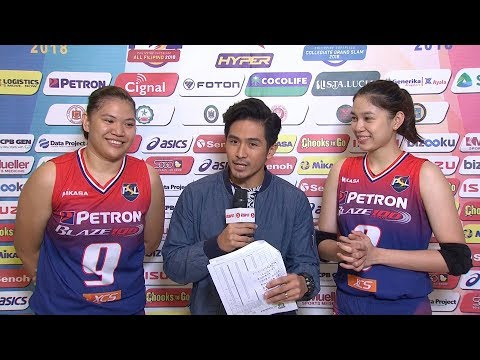 Match MVPs: Remy Palma and Mika Reyes | PSL All-Filipino Conference 2018
