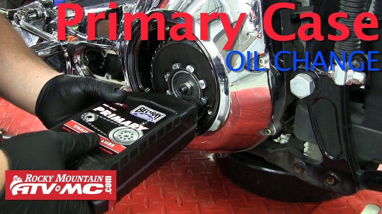 harley davidson primary chaincase fluid change - youtube