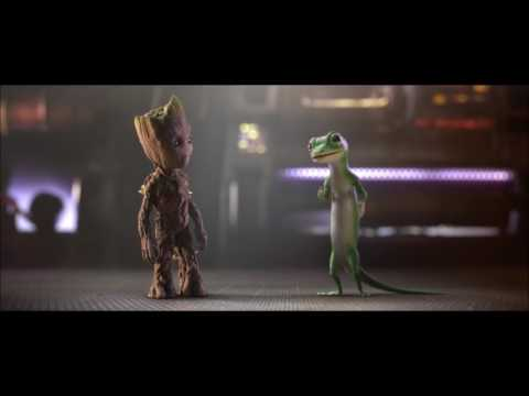 Guardians of the Galaxy 2: Groot and Gecko Team Up – GEICO AD