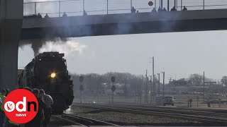 World's biggest steam engine 'Big Boy' back in action