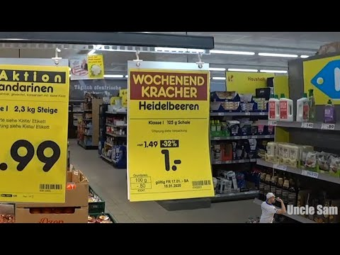 Вестник нищеброда #8. 17.01.20. Русский голодранец в немецком супермаркете!