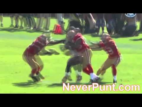 [NeverPunt.com] 49ers Dashon Goldson blasts Bucs Mike Williams. Oct 9, 2011 Week 5