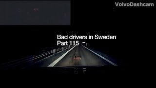 Bad Drivers in Sweden #115 Underground maze and all those saved seconds