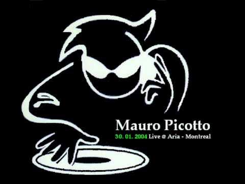 Mauro Picotto (30.01.2004) Live @ Aria - Montreal