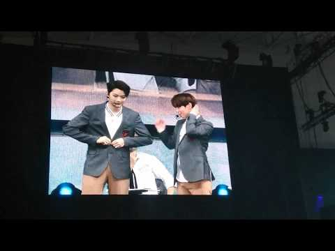 Panwink parody drama ssam my way at Wanna One Fm in Singapore
