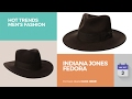 Indiana Jones Fedora Hot Trends Men's Fashion