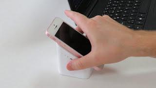 Haut-parleur Bluetooth et support pour smartphone