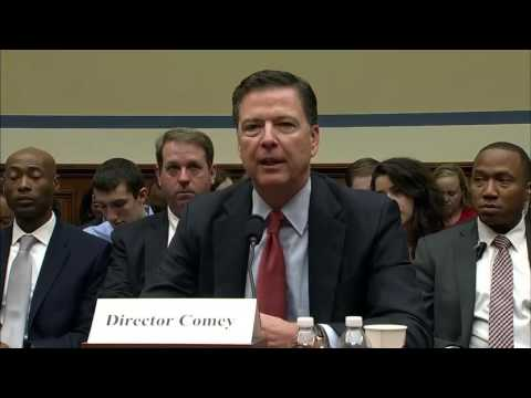 James Comey testifies before the House Judiciary Committee on Hillary email investigation 0/28/16