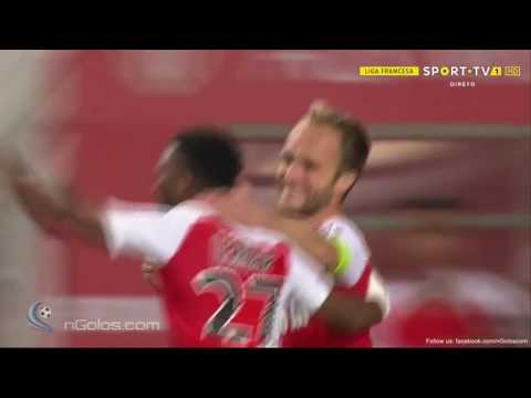 Germain GOAL Monaco 2-0 St Etienne -   90'+3'