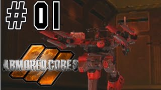 Armored Core 3 (blind) 01  : Great way to start a game
