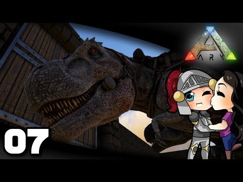 Welsknight & Wifey Play ARK  Ep 7: Rexes!