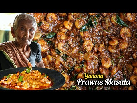 Prawn Masala Curry  | Yummy Prawns Recipe By Granny Mastanamma
