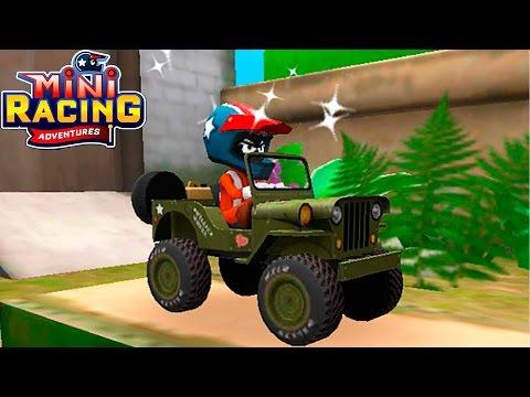 Машинки MINI RACING ADVENTURES #2 гонки на разных тачках ИГРА как мультик про машинки для детей
