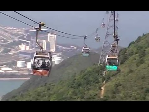 Ngong Ping 360  Hong kong tourist attraction you need to visite Low