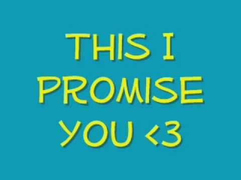 This I Promise You  frankie J WLyrics