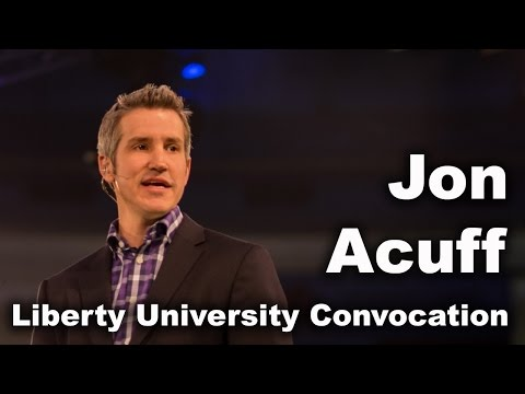 Jon Acuff - Liberty University Convocation