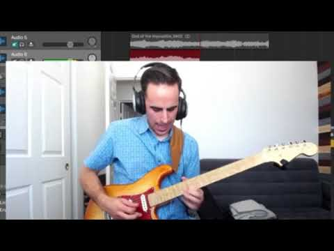 God Of The Impossible - Lincoln Brewster (guitar Solo Recreation)