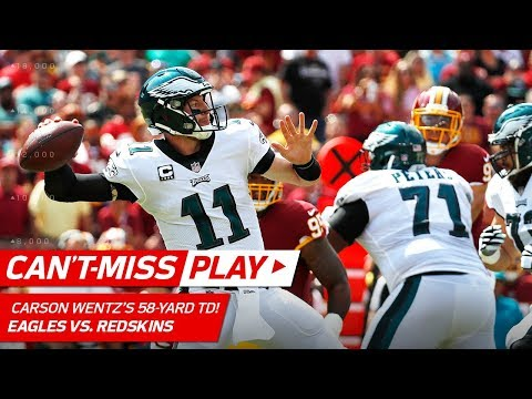 Carson Wentz Tosses 58-Yard TD to Nelson Agholor! | Can